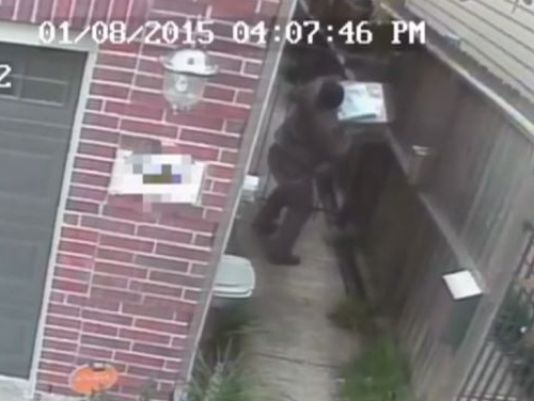 UPS Driver Throws Package And Urinates On House