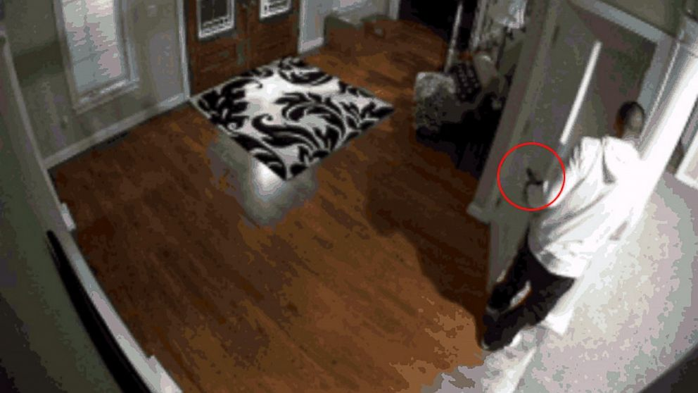 Home Surveillance Catches Aaron Hernandez With Gun