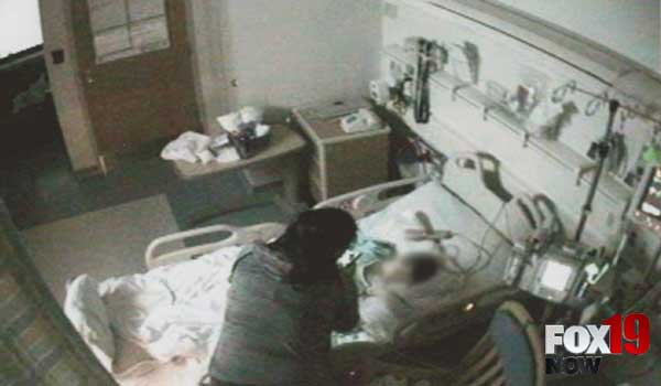 Caught On Camera: Woman Injects Feces Into Son's IV