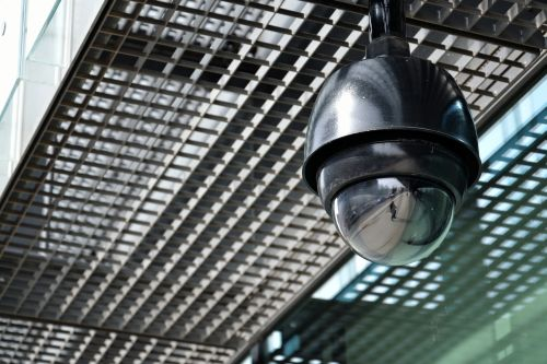 Ceiling-mounted Security Camera