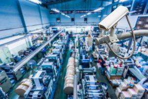 manufacturing facility security camera