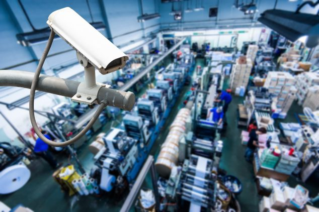 Use Security Cameras to Review Equipment Utilization