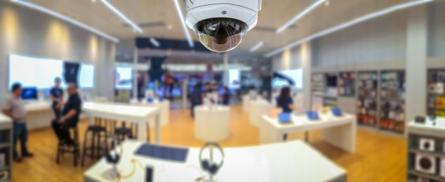Security cameras for dispensaries