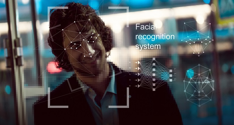 Facial recognition via security cameras