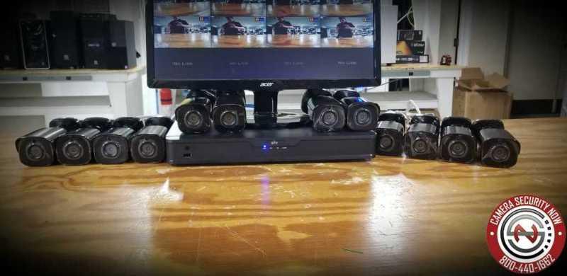 Our security cameras