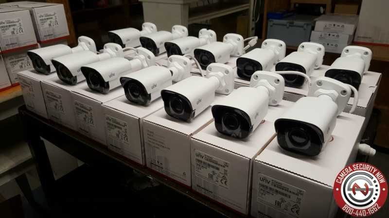 Uniview security cameras