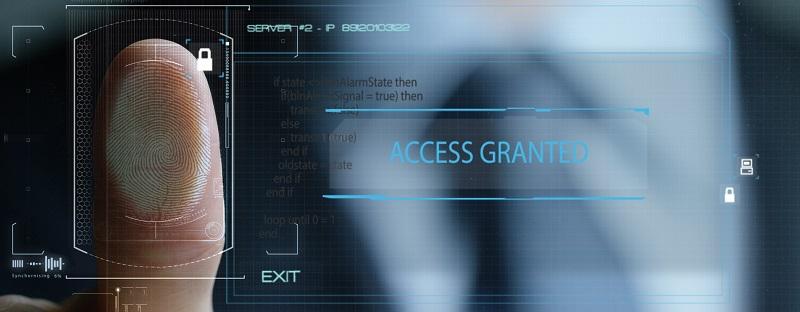 Access control via fingerprint scanner
