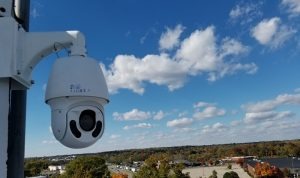 Security cameras for police departments, fire departments and government facilities