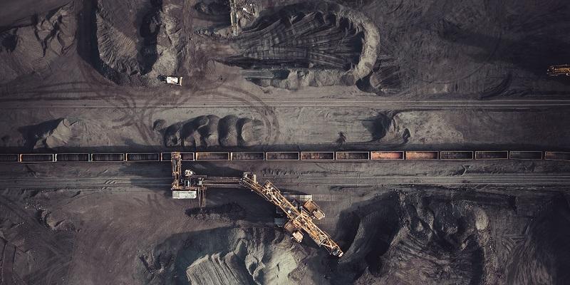Minería de carbón desde arriba