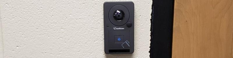 Doorbell camera - access control