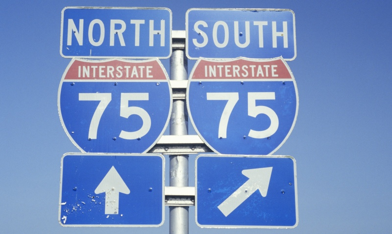 Service along the I-75 corridor
