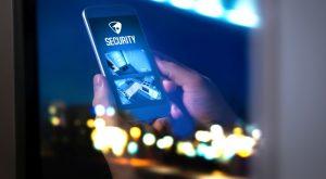Smart alert security cameras on smartphone