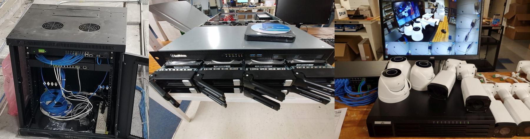 Network or Direct Attached Surveillance Storage