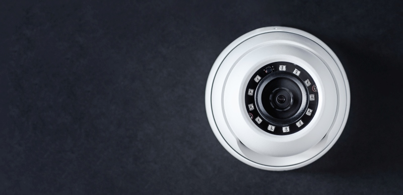 Dome infrared IP security camera