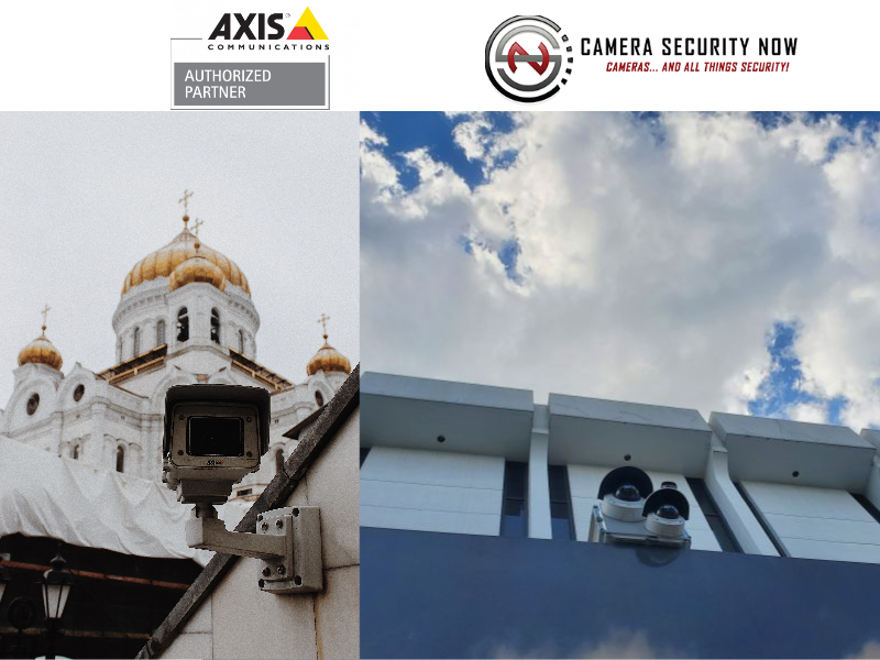 Axis Security Camera Installation