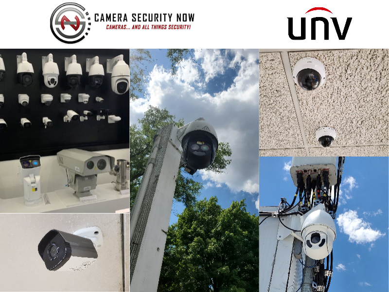 Uniview Security Camera Installation