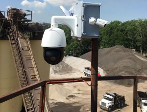 Security cameras for the aggregate industry