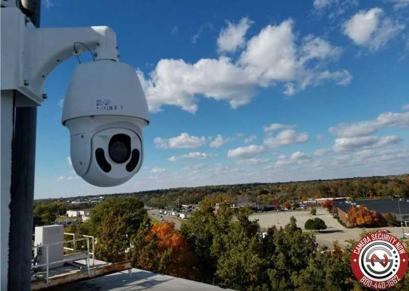 Pan-Tilt-Zoom motorized security camera