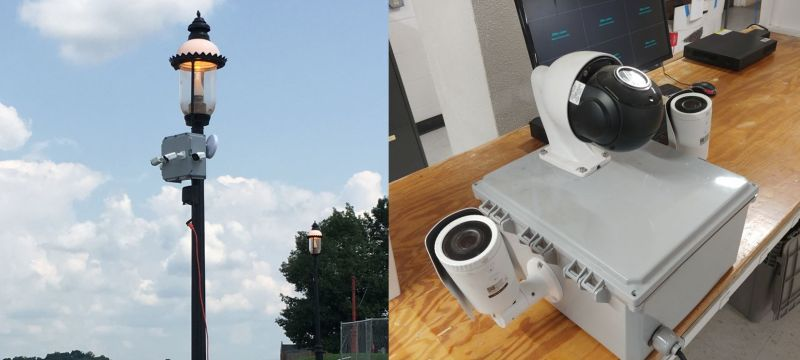Mobile security cameras